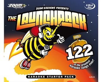 Zoom Karaoke The All New Launchback Set (CD+G)