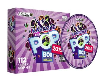 Zoom Karaoke Pop Box 2015 (6 CD+G's)