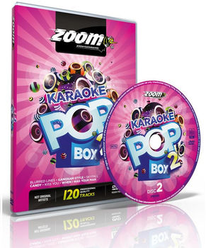 Zoom Karaoke Pop Box 2 (4 DVD's)