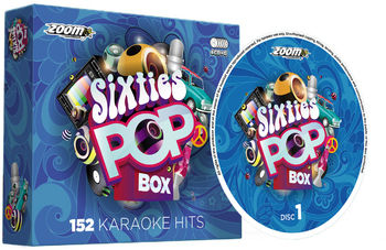 Zoom Karaoke Sixties Pop Box (6 CD+G's)