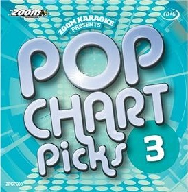 Zoom Karaoke Pop Chart Picks 3 (CD+G)
