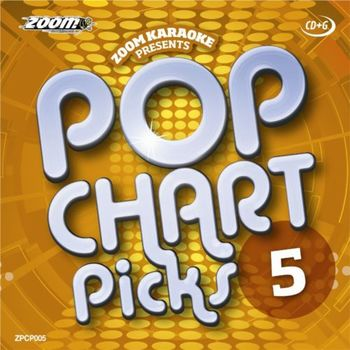 Zoom Karaoke Pop Chart Picks 5 (CD+G)