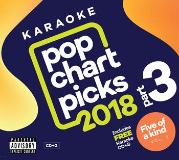 Zoom Karaoke Pop Chart Picks 2018 - Part 3 (2 CD+G's)
