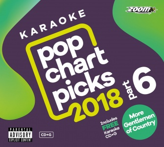 Zoom Karaoke Pop Chart Picks 2018 - Part 6 (2 CD+G's)