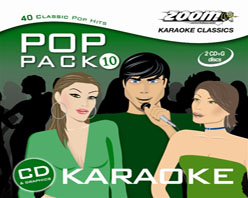Zoom Karaoke Pop Pack 10 (2 CD+G's)