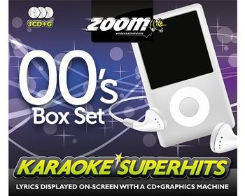 ZOOM KARAOKE SUPERHITS 00's Box Set (3 x CDG)