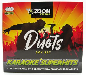Zoom Karaoke Duets Superhits (3 CD+G's)