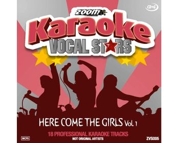 Vocal Stars: Here Comes The Girls Vol.1 (CDG)