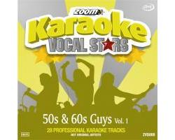 Zoom Karaoke Vocal Stars: 50s & 60s Guys Vol.1 (CD+G)