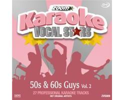 Vocal Stars: 50s & 60s Guys Vol.2 (CDG)