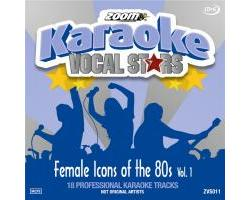 Zoom Karaoke Vocal Stars: Female Icons Of The 80s Vol.1 (CD+G)
