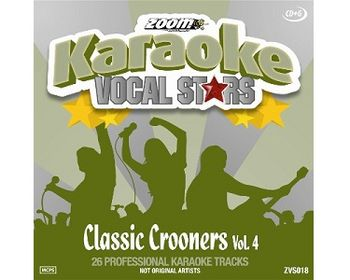 Vocal Stars: Classic Crooners 4 (CDG)
