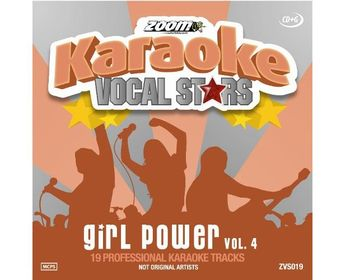 Zoom Karaoke Vocal Stars - Girl Power Vol. 4 (CD+G)