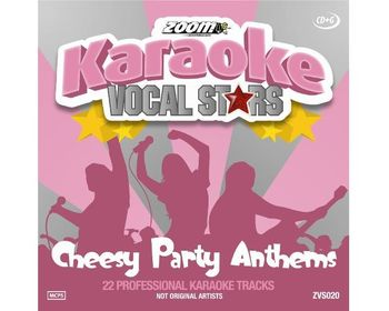 Zoom Karaoke Vocal Stars - Cheesy Party Anthems (CD+G)