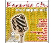 Best Of Megahits Vol. 18 (CD+G)