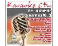 Best Of Deutsche Schlagerstars Vol.3 (CD+G)