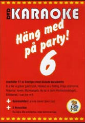Häng Med På Party Vol 6 (DVD)