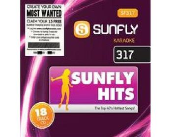 Sunfly Hits 317  (CD+G)