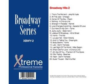 Xtreme Broadway Hits 2 (CD+G)