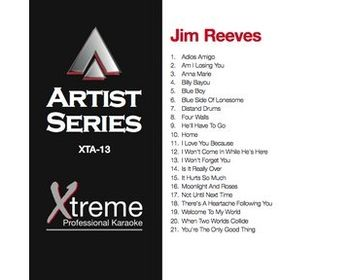 Jim Reeves (CD+G)