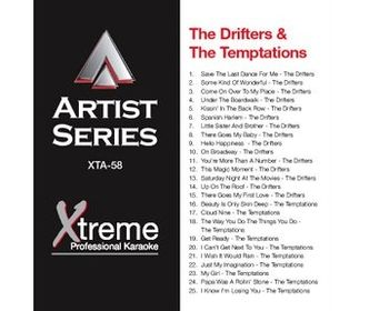 The Drifters & The Temptations (CD+G)