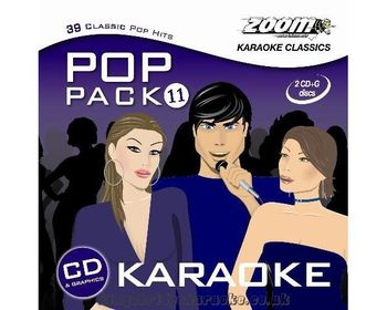 Zoom Karaoke Pop Pack 11 (2 CD+G's)